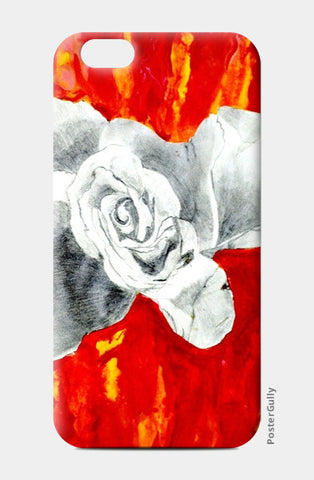 Abstract Rose iPhone 6/6S Cases | Artist : Ajooni Singh