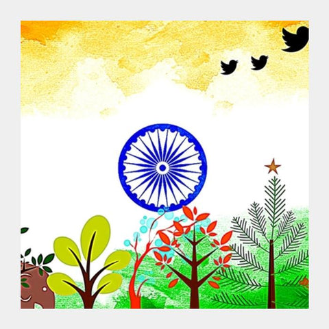 PosterGully Specials, India Square Art Prints | Artist : Pallavi Rawal, - PosterGully