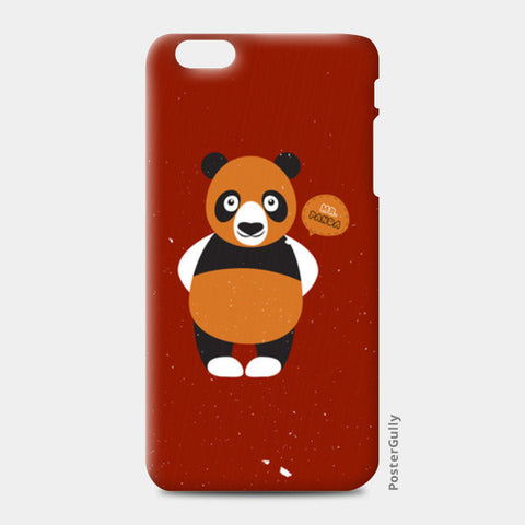 Panda On Red iPhone 6 Plus/6S Plus Cases | Artist : Designerchennai