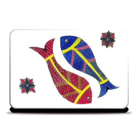 Laptop Skins, Gond Art Laptop Skin I Gayatri Iyer, - PosterGully