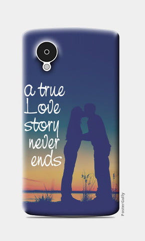 A True Love Story Nexus 5 Cases | Artist : Abhishek Bhardwaj
