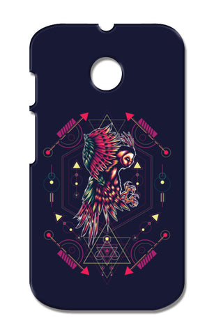 Owl Artwork Moto E XT1021 Cases | Artist : Inderpreet Singh