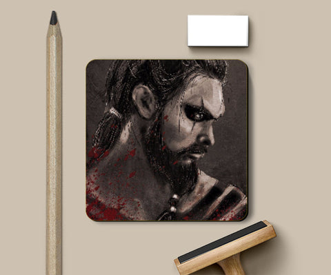 Coasters, Khal Drogo Game Of Thrones Coaster | Artist: Parikshit Deshmukh, - PosterGully