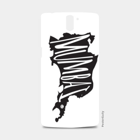 One Plus One Cases, Mumbai Typography One Plus One Cases | Artist : Bum from the Bay, - PosterGully