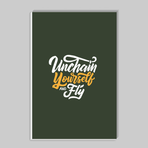 Unchain Yourself And Fly Stick Ons | Artist : Inderpreet Singh