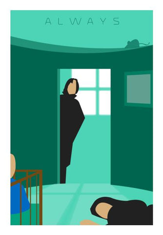 A Prince's Tale (Severus Snape) Harry Potter Fanart Wall Art PosterGully Specials