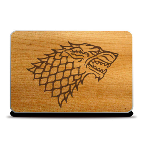 Game of Thrones | House Stark Laptop Skins | Artist : Dhruv Khandelwal | Special Deal - Size 14.1""