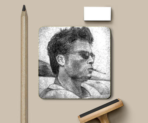 Coasters, Brad Pitt - Fight Club Coasters | Artist : Pallab Bhowmik, - PosterGully