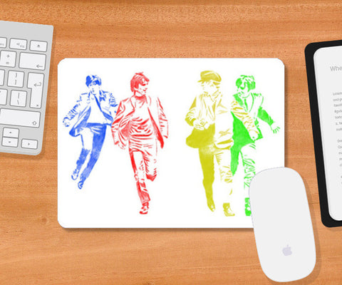 The Beatles Mousepad | Artist : Chandan Verma