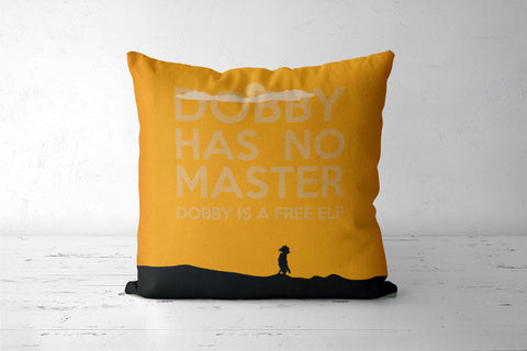Dobby is a Free Elf Cushion Cover | Rishabh Bhargava