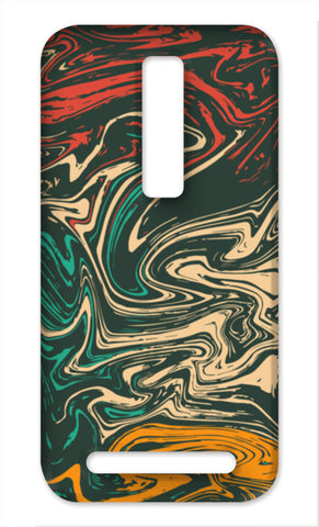 Colorful Marble Asus Zenfone 2 Cases | Artist : Designerchennai