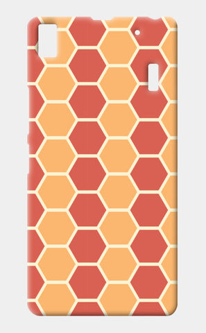Hexagonal tiling pattern Lenovo K3 Note Cases | Artist : Designerchennai