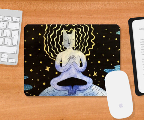 Mousepad, chill Mousepad | Artist : Vanya Verma, - PosterGully