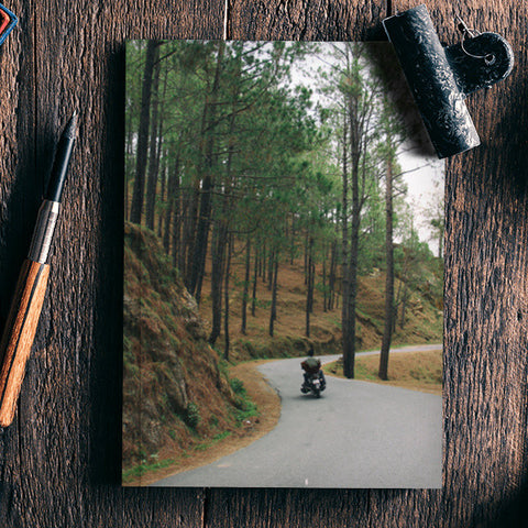 Motorcycle Diaries, Himalayas Notebook | Artist : Cropped Streets