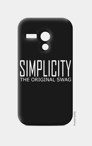 simple is swag Moto G Cases | Artist : Keshava Shukla