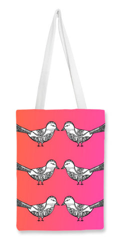 Bird Patterns Tote Bags | Artist : Amulya Jayapal