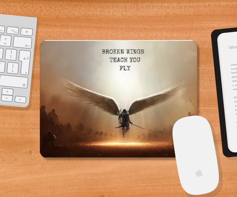 Mousepad, Broken Wings Mousepad | Artist: Nagesh Kanduru, - PosterGully