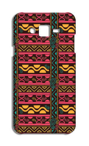 Abstract geometric pattern african style Samsung Galaxy J7 Cases | Artist : Designerchennai