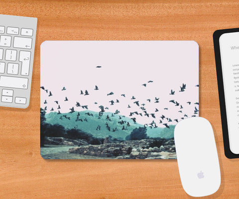 Mousepad, Haunted Mousepad | Artist : Cropped Streets, - PosterGully