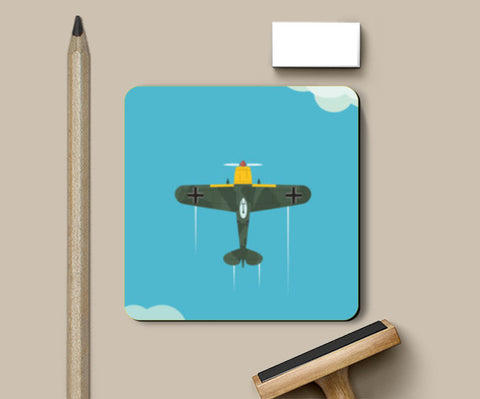 German Luftwaffe ww2 Coasters | Artist : Himanshu Sood