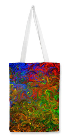 Rhythm of colors Tote Bags | Artist : Amar Singha