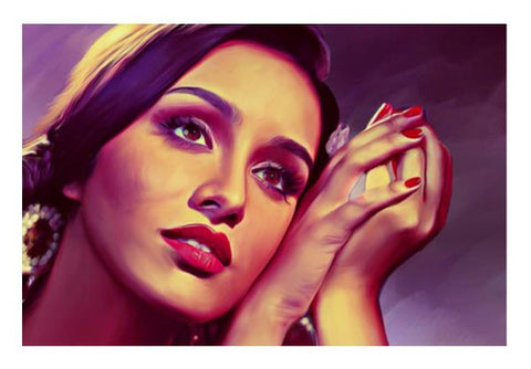 PosterGully Specials, Shraddha Kapoor Wall Art  | Artist : Delusion, - PosterGully