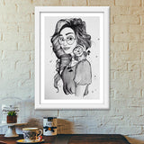The Witch Premium Italian Wooden Frames | Artist : Asees Kaur