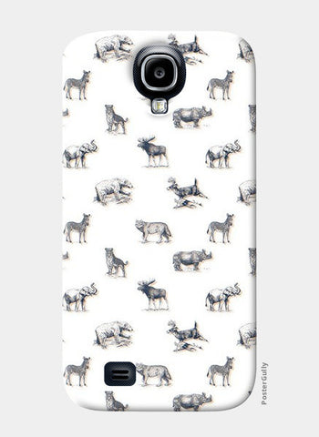 Safari Animal Samsung S4 Cases | Artist : Dinesh kumar