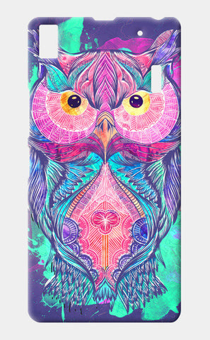 The night owl watercolour digital Lenovo A7000 Cases | Artist : Cuboidesign