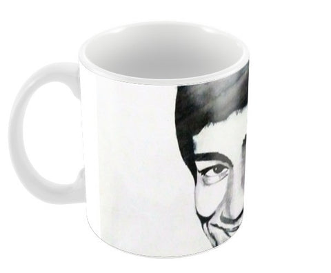 bruce lee the big boss Coffee Mugs | Artist : Sunil Angral