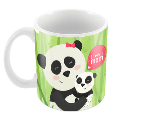 Panda Love Mother's Day Coffee Mugs | Artist : Creative DJ
