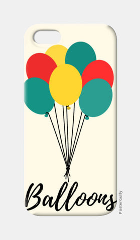 Colorful Balloons iPhone 5 Cases | Artist : Ankita Sharma