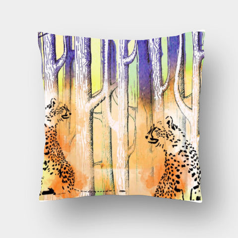 Cushion Covers, jungle walk Cushion Cover | Sonali Ghosh, - PosterGully