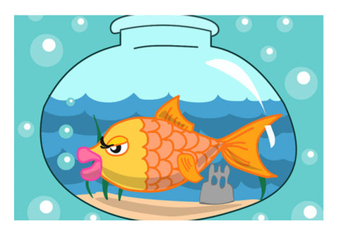 Wall Art, Fish bowl Wall Art  | Artist : Anuj Goyal, - PosterGully