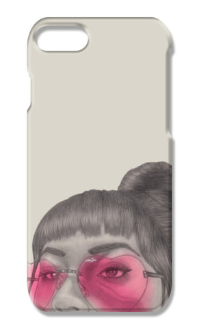 Betty With The Glasses iPhone 7 Plus Cases | Artist : Anniez Artwork