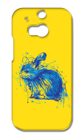 Rabbit HTC One M8 Cases | Artist : Inderpreet Singh
