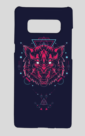 Wolf Samsung Galaxy Note 8 Cases | Artist : Inderpreet Singh
