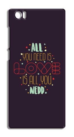 All you need is love is all you need Xiaomi Mi-5 Cases | Artist : Designerchennai