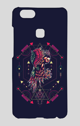Owl Artwork Vivo V7 Plus Cases | Artist : Inderpreet Singh
