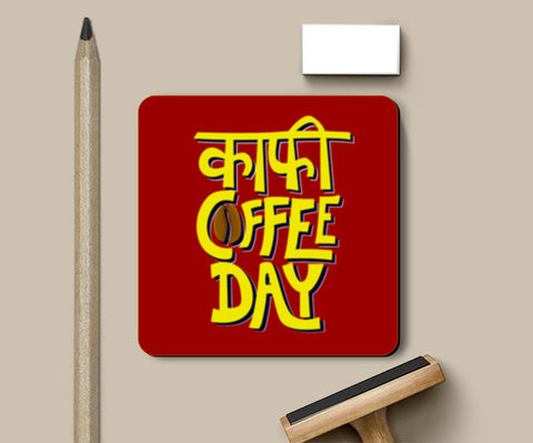Kaafi Coffee Day Coasters | Artist : Shrishti Chouhan