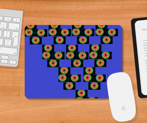 Pyramid of Eyes Mousepad | Artist : Papo Mukherjee