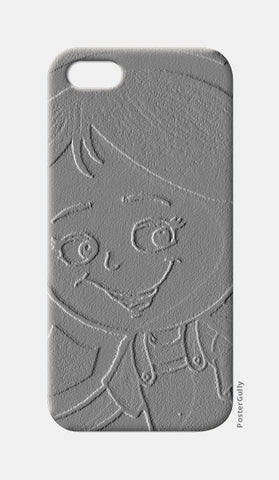 3D Cute Girl iPhone 5 Cases | Artist : ashman's