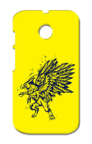 Mythology Bird Moto E XT1021 Cases | Artist : Inderpreet Singh