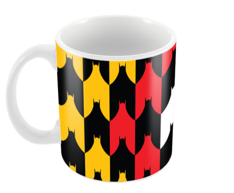 Batman and Bat (Upside down) Coffee Mugs | Artist : Rachit Tank