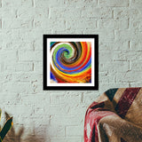 Abstract art  Premium Square Italian Wooden Frames | Artist : Fariya Arts