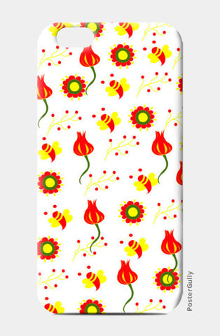 Flower Garden iPhone 6/6S Cases | Artist : Nisha Prabhu