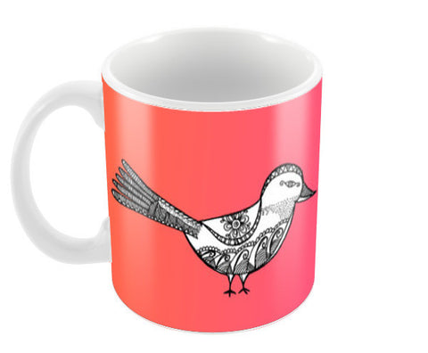 Bird Patterns Coffee Mugs | Artist : Amulya Jayapal
