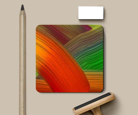 Coasters, Color Strokes Coasters | Artist : CK GANDHI, - PosterGully