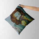 HappinessIs Coffee Cushion Cover | Artist : Chahat Suri