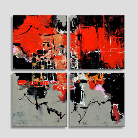 Abstract 4451502_Four Piece Canvas Set